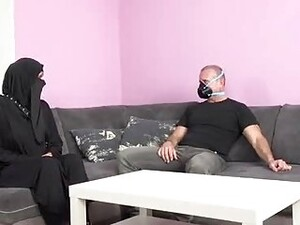 Horny, Muslim Woman Is Getting Fucked While Her Husband Is Out Of Town For The Weekend