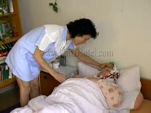 Morbidly Obese SSBBW Granny Gets Her Cunt Banged With Plastic Doll