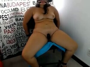 Blindfolded Naked Indian Slut Is Tied To The Chair For Cheating
