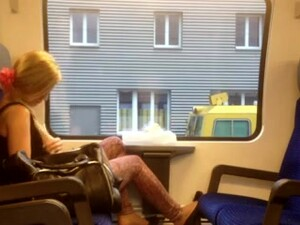I'm Masturbating In Train