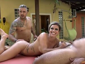 Fund,Pula mare,Brazilia,Dublu anal,Sex in grup