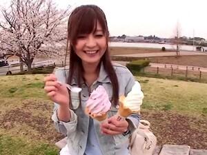 Sexy Office Girl Rina Ishihara Gives You A POV Blowjob