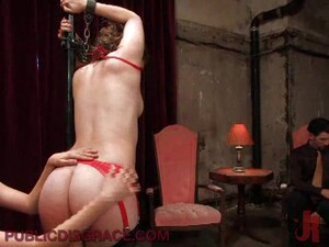 Naughty Chick Submits To A BDSM Party