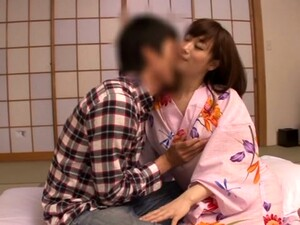 Japanese Wife Blows And Gets Fucked In Cowgirl Position