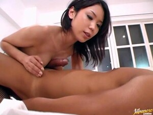 Gorgeous Japanese Cutie Hina Sucks A Massive Dick Of Her Lover