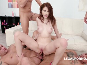Gisha Forza - Crazy Gang Pound With Brunette Chick