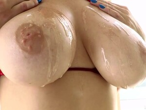 Awesome Super Bosomy Sexpot Skylar Snow Gives Titjob And Gets Analfucked