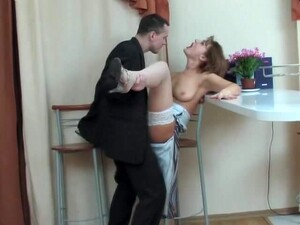 Hot Woman Seduces A Guy