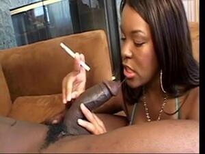 Smoking Cigarettes While Sucking Dick!