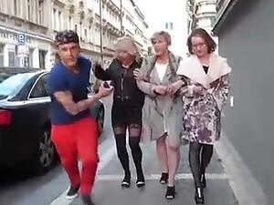 Vierer,Großmutter,Reifen,Orgie