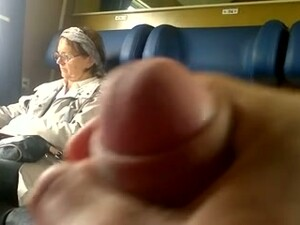 Flashing And Jerking Off My Dick In The Train On Cam