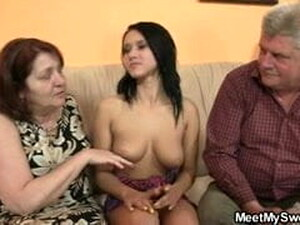Innocent GF Is Seduced By Her BF's Parents