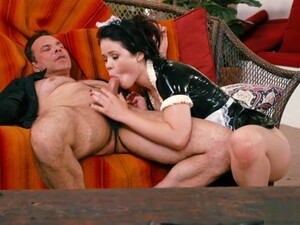 Teen Maid Dominated Over And Pussyfucked