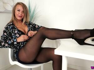 女士内衣,尼龙,办公室,连裤袜,秘书