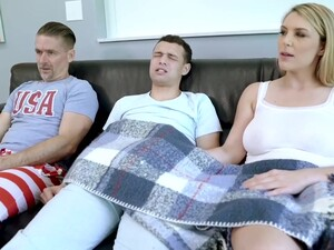 Stepmom Showing Stepson How To Handle A Bigass
