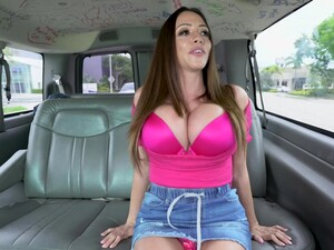 Busty MILF Tries The Bang Bus For Extra Spice