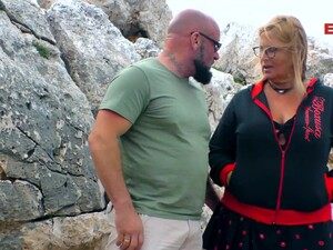 German Chubby Mature Housewife Outdoor Fuck