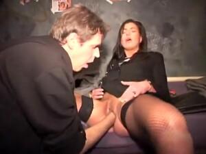 Fabulous Homemade Fishnet, Stockings Adult Scene