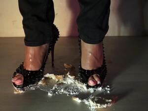 Crush Trample Food Louboutin Shoes