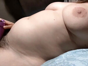 Hairy Wife Cums With Vibrator