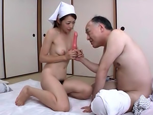 Sexy Asian Maid Maki Hokujo Enjoys True Pleasure