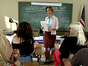 Naughty Teacher Gangbanged By Her Students