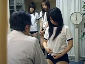 Japanese Schoolgirl (21+) Medical Exam