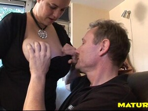 Fat Ass Matured BBW Moans While Her Shaved Pussy Is Blasted Hardcore