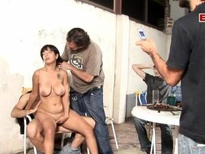 Spanish Big Tits Milf Gangbang Homemade