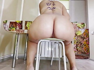 Anal Sex Stepson And Mom Big Ass In The Kitchen After Work