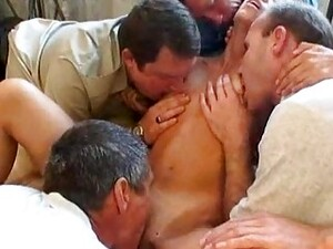 Orgy With A Russian TEEN