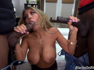 Horny Mature Kayla Kayden Gets Double Penetrated By Black Guys