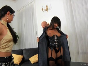 Lovely Monika B Gets Talked Into Sharing Some Cocks With A Friend
