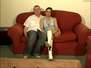 Adorable Brunette Anna Milf Spreads Her Legs To Be Fucked In Missionary