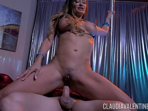 Claudia Valentine Wants To Be Plowed Up Her Tight Anus