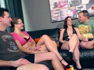 Vierer,Deutscher Porno,Gruppensex,Orgie,Swinger