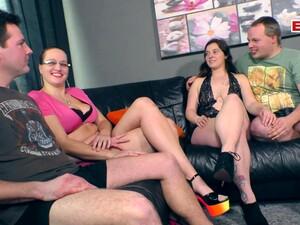 Amateur,Paar,Vierer,Deutscher Porno,Gruppensex