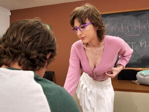 Sexy Tutor Tristan Summers Teases A Student And Gets Fucked Hard