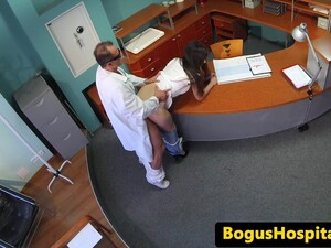 Amateur Euro Patient Fucked From Behind