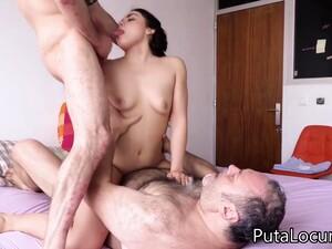 Spanish Hot Babe Gangbang Sex Video