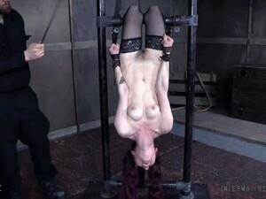 Extreme Bondage Fetish Session With Purple Haired Slut Ivy Addams