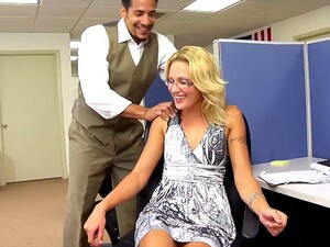 Cubicle Cocksucking And Sex With The Hottest Chick In The Office