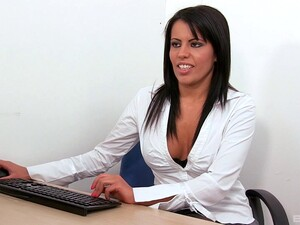 Seductive Teacher In A Sexy Lingerie Gets Banged Hardcore At Her Office