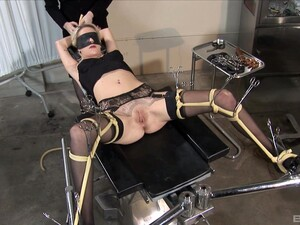 Brave Blonde Kissy Kapri Want To Try All Sex Machines And BDSM Games