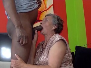 First Interracial Sex For 82 Years Old Grandma
