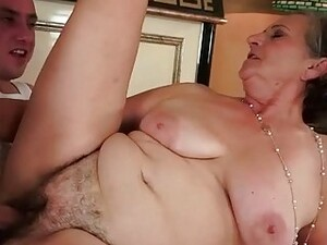 Young Man Fucking Hairy Fat Granny