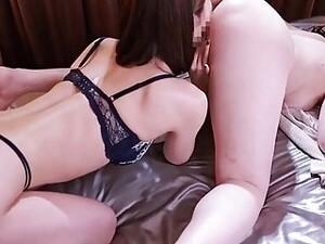 アジアポルノ,おねえさん,美人,夫,日本人のポルノ