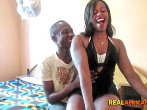 Real African Couple Hardcore Pounding