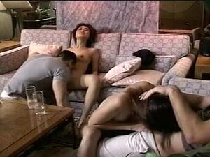 2 Thai-Girls From Bangkok In A Foursome