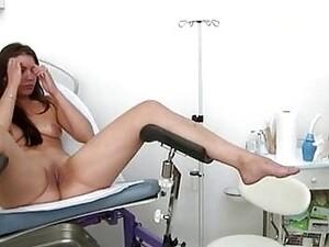 Brunette Teen Goes To Lesbian Doctor